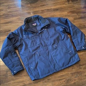 Patagonia 600 Fill Down Wanaka H2NO Jacket NO HOOD